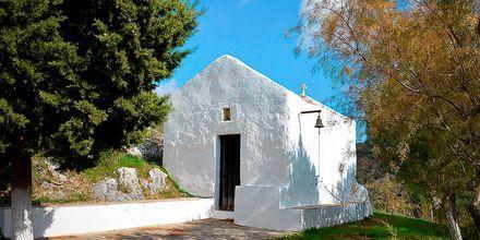 En av stadens små kyrkor.