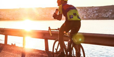 Sitia på Kreta är en dröm för cyklister.