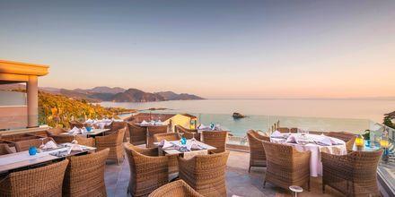 Restaurang på Sivota Diamond, Grekland.