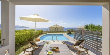 Bungalow med privat pool på Sivota Diamond, Grekland.