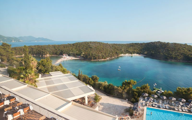 Hotell Sivota Retreat Beach Club i Sivota, Grekland.