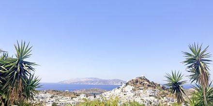 Utsikt från hotell Skala, Ios, Grekland.