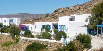 Hotell Skala på Ios, Grekland.