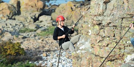 På Bjärehalvön finns alla möjligheter till roliga sportaktiviteter.