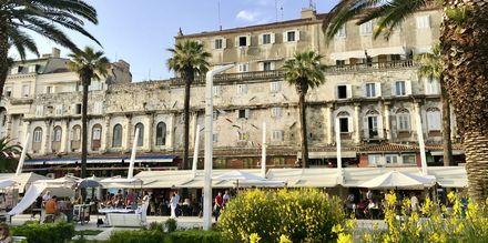Bland annat får du se  Diocletianus palats som byggdes för över 1700 år sedan.