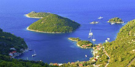 Efter Dubrovnik fortsätter skärgårdskryssningen till ön Mljet.