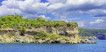 Phaselis, en vacker ruinstad som grundades redan på 800-talet f.Kr.
