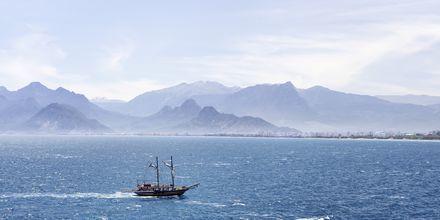 Den turkiska skärgården bjuder på hisnande vyer över havet.