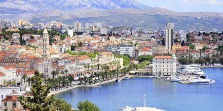 Veckan både börjar och slutar i Split på Kroatiens fastland.