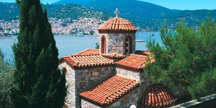 Skopelos i Grekland.