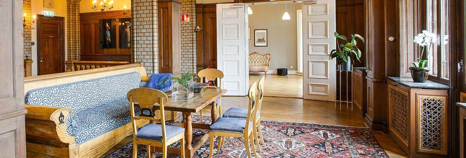 Hotell Slottsvillan i Huskvarna.