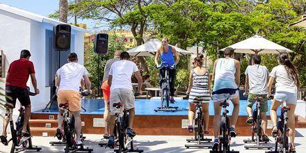 Träna på hotell Sol Arona Tenerife i Los Cristianos, Teneriffa.