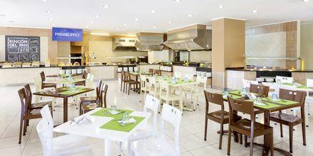 Bufférestaurangen på hotell Sol Arona Tenerife i Los Cristianos, Teneriffa.