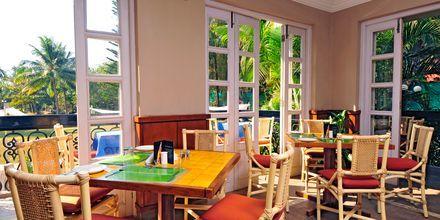Café på hotell Sonesta Inns i Goa, Indien.