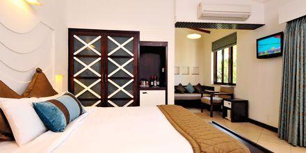 Dubbelrum på hotell Sonesta Inns i Goa, Indien.
