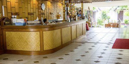 Receptionen på hotell Southern Lanta Resort, Thailand.