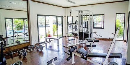 Gymmet på på hotell Southern Lanta Resort, Thailand.