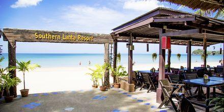 Strand på hotell Southern Lanta Resort, Thailand.