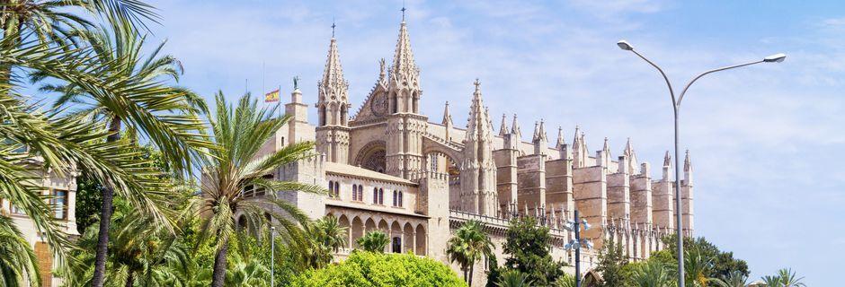 Katedralen La Seu i Palma, Mallorca.