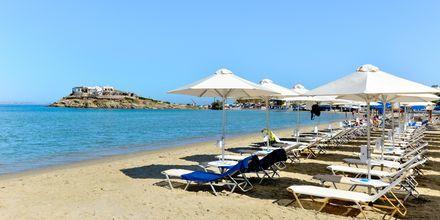 St George-stranden är närmaste strand till hotell Spiros i Naxos stad.