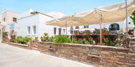 Hotell Spiros i Naxos stad, Grekland.