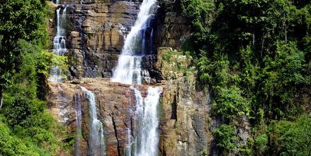 Vattenfall på Sri Lanka.