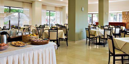 Restaurang på hotell St Constantine på Kos, Grekland.