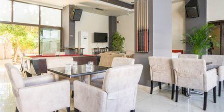 Lounge på hotell St Constantine på Kos, Grekland.