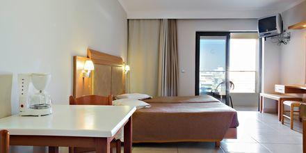 Enrumslägenhet på hotell St Constantine på Kos, Grekland.