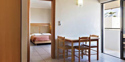 Tvårumslägenhet på hotell St Constantine i Kos stad, Grekland.