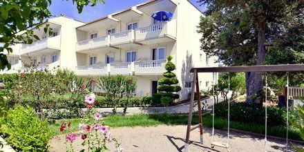 Lekplats på hotell St James´s på Rhodos, Grekland.