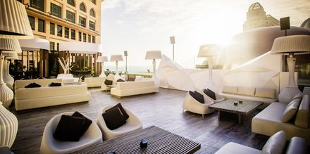 Takterrassen på hotell St Regis Doha, i Doha, Qatar.