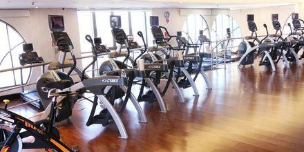 Gym på hotell St Regis Doha, i Doha, Qatar.