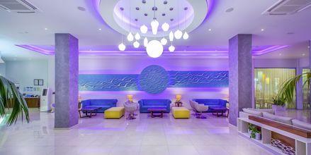 Lobbyn på hotell Stamatia, Ayia Napa.