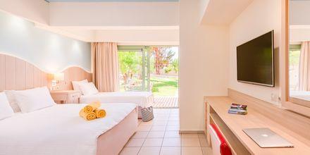 Familjerum på hotell Star Beach Village & Waterpark i Hersonissos på Kreta.