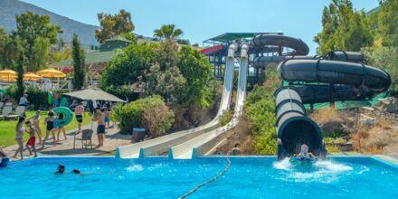 Vattenparken på hotell Star Beach Village & Waterpark i Hersonissos på Kreta.