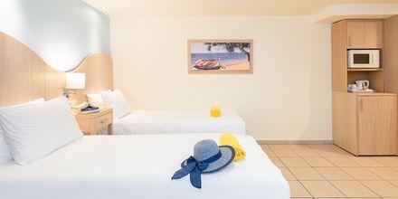 Tvårumslägenhet superior på hotell Star Beach Village & Waterpark i Hersonissos på Kreta.