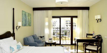 Deluxerum på hotell Steigenberger Al Dau Beach i Hurghada, Egypten.