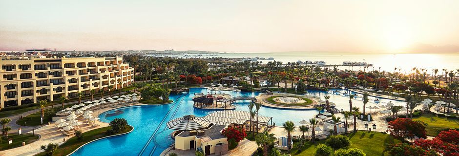 Hotell Steigenberger Al Dau Beach i Hurghada, Egypten.
