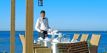 Restaurang på hotell Steigenberger Al Dau Beach i Hurghada, Egypten.