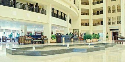 Lobbyn vid Steigenberger Al Dau Beach i Hurghada, Egypten.