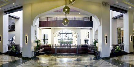Lobby på hotell Steigenberger Aqua Magic i Hurghada, Egypten.