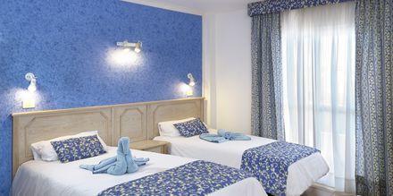Tvårumslägenhet på hotell Stella Polaris Oro Blanco i Playa de las Americas, Teneriffa.