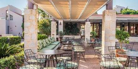 Restaurang på Stellina Village Resort, Kreta, Grekland.