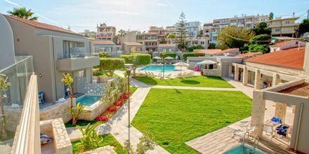 Enrumslägenheter med privat pool på Stellina Village Resort, Kreta.