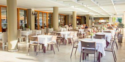 À la carte-restaurang på Stellina Village Resort, Kreta, Grekland.