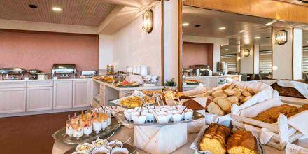Restaurang på hotell Strada Marina på Zakynthos i Grekland.