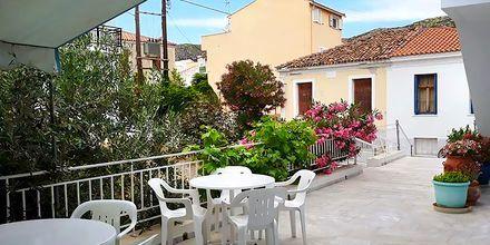 Hotell Stratos i Pythagorion på Samos, Grekland.