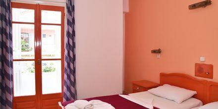 Dubbelrum på hotell Stratos i Pythagorion på Samos, Grekland.