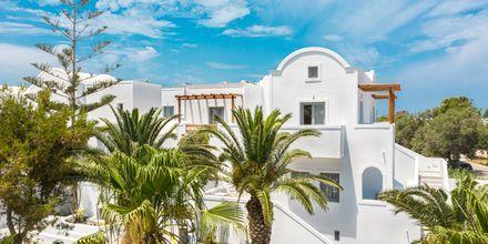 Hotell Strogili på Santorini, Grekland.